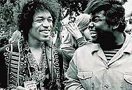 jimi hendrix & buddy miles in the '60s
